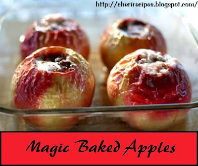 country baked apples
