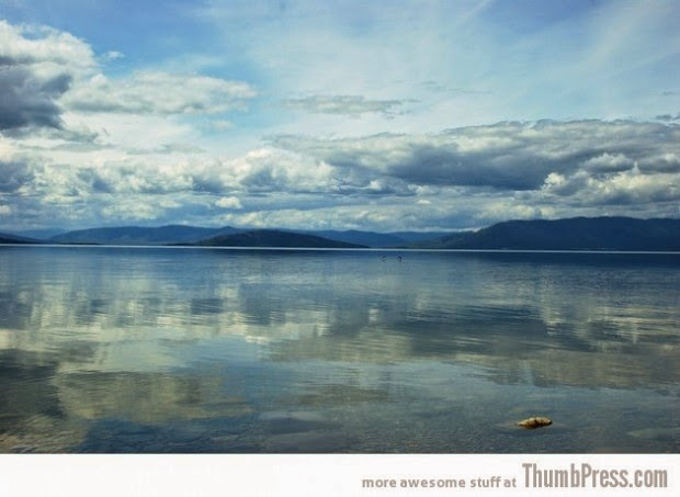 Flathead lake in Montana, USA picture