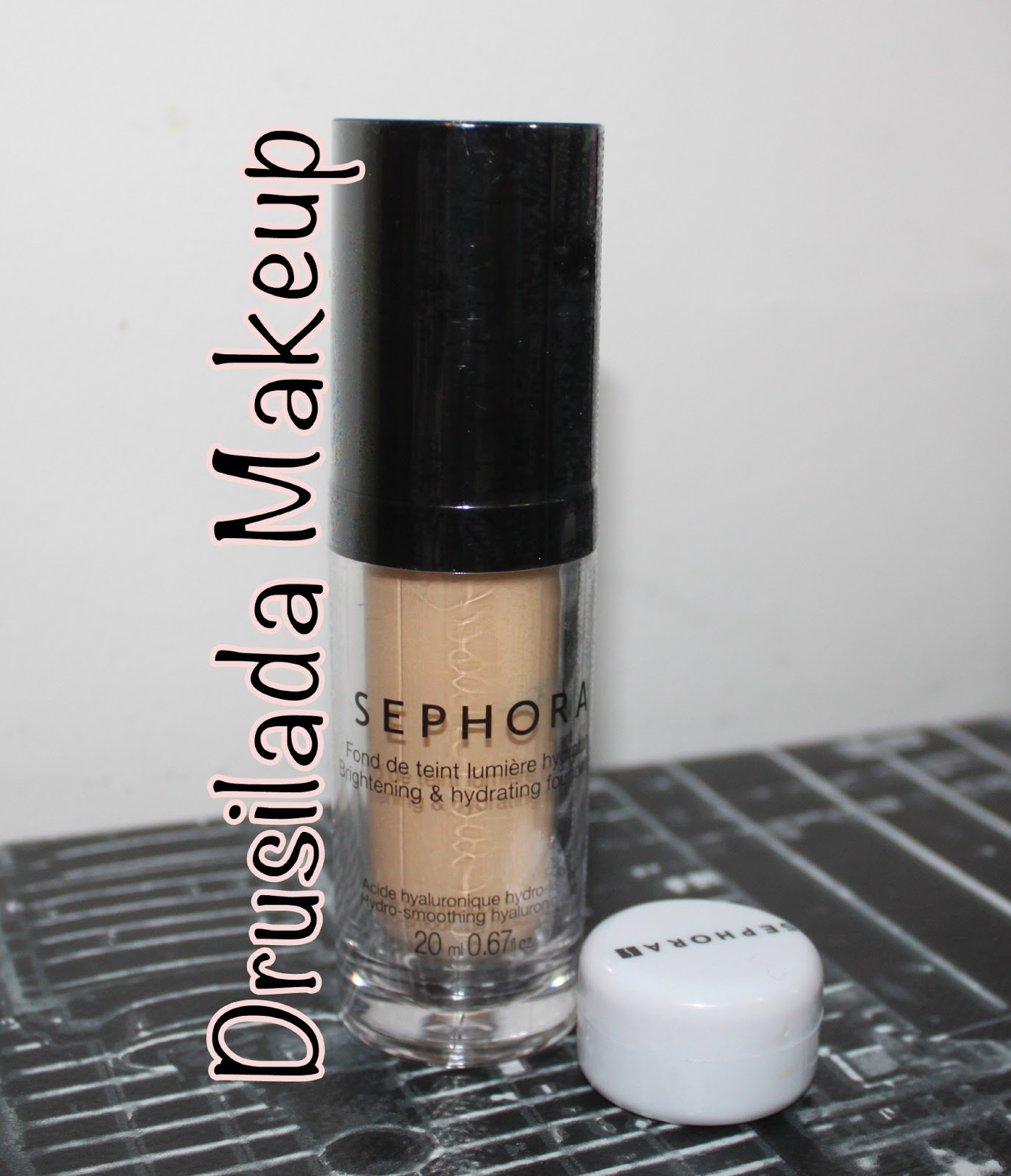 drusilada makeup sephora brightening hydrating foundation. Black Bedroom Furniture Sets. Home Design Ideas