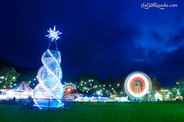 Christmas Display, Freedom Park, Dumaguete City