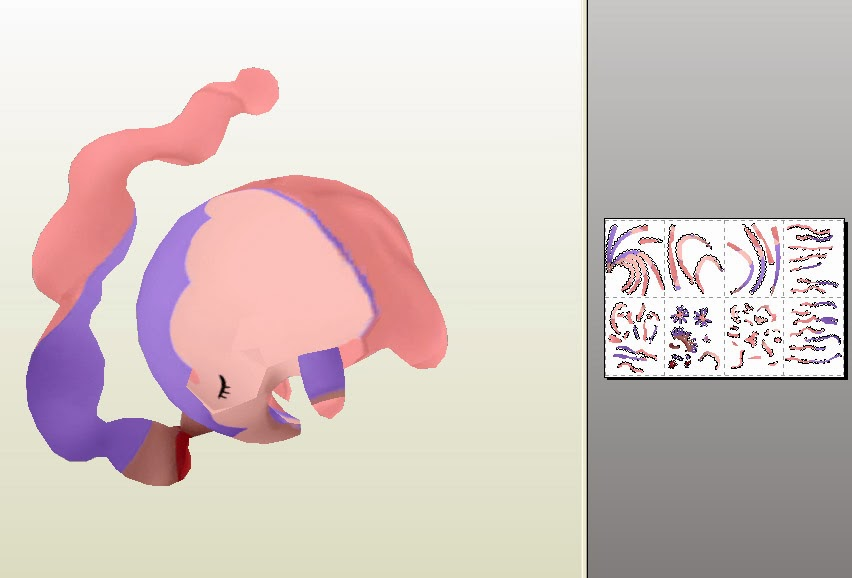 Pokemon Musharna Papercraft