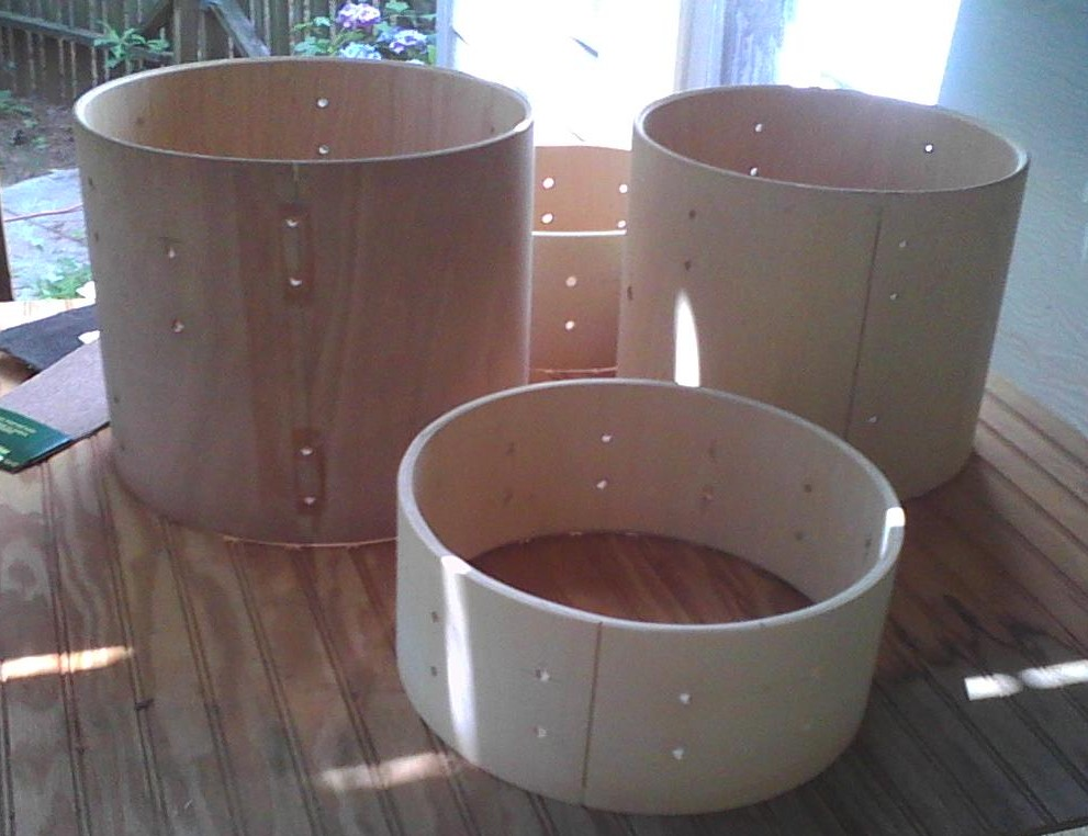 Painting Wood Drum Shells