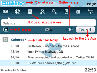 Tema BlackBerry 8520 TwitterOn Download Tema BlackBerry 8520 Gratis 2012