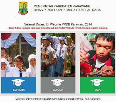 PPDB ONLINE SMP KARAWANG TAHUN 2014