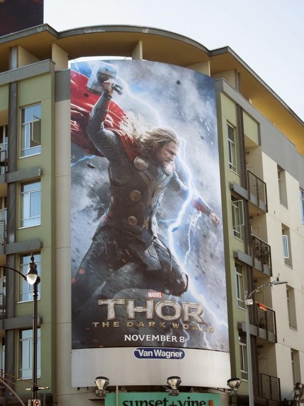 Thor 2 Dark World billboard
