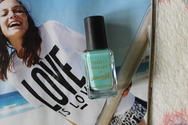 Barry M Nail Paint In Mint Green Nail Polish Beauty Blogger Blog