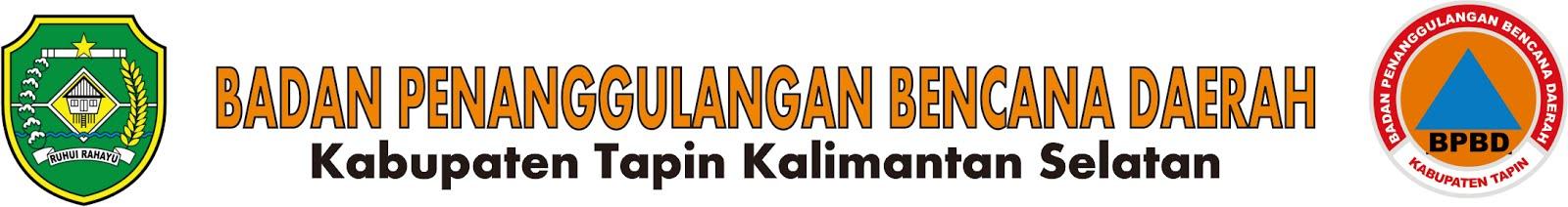 Website  Resmi BPBD Kabupaten Tapin