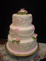 Wedding Cake    (fondant)