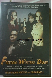 Novel freedom writers Diary with Erin Gruwell by Zlata Filipovic