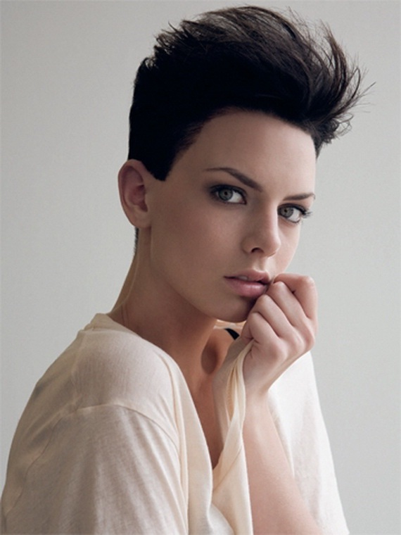 Styling Short Hair : There are abounding abbreviate hair styles came with 2012 hair styles ...