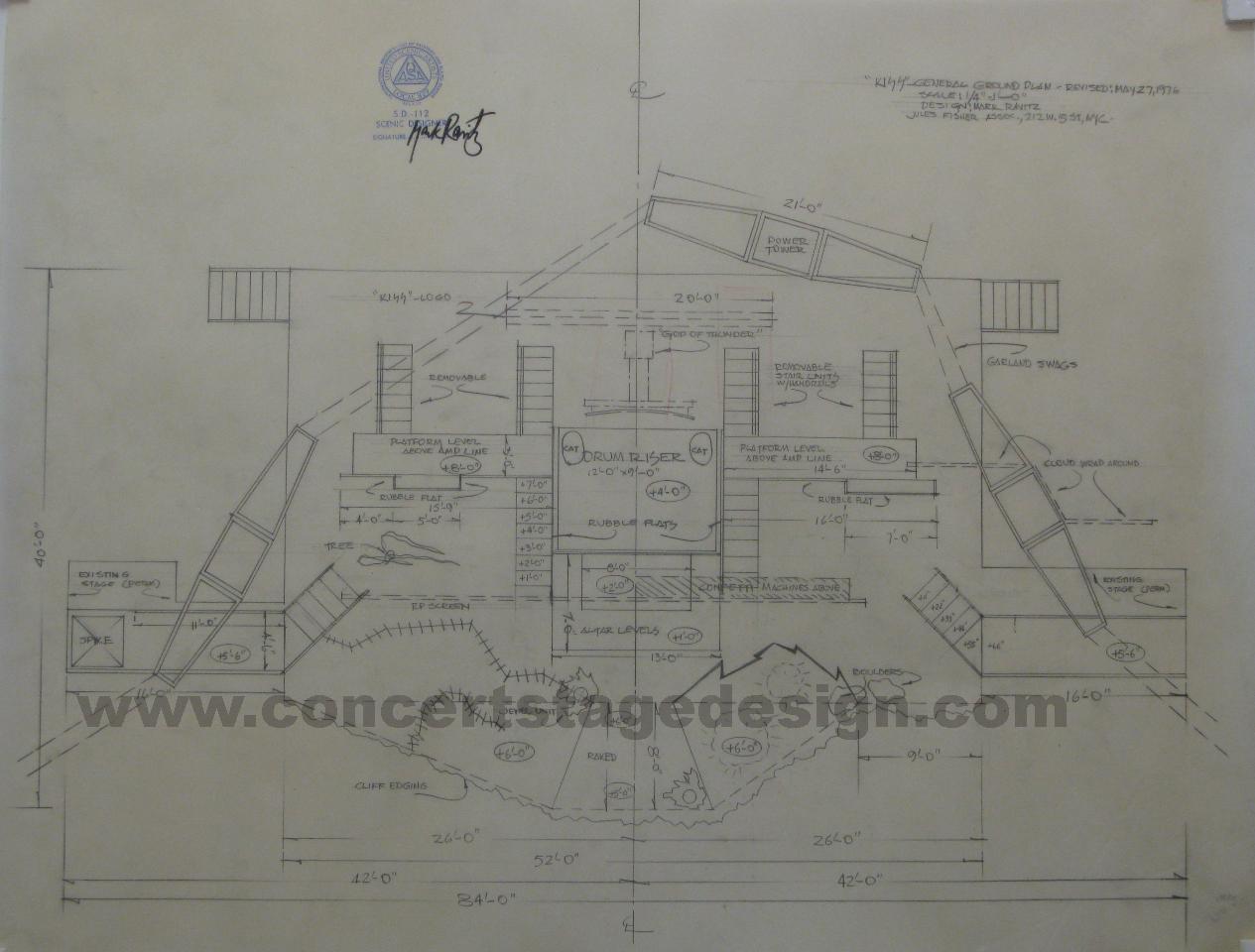 Concert stage design kiss destroyer tour 1976 malvernweather Images