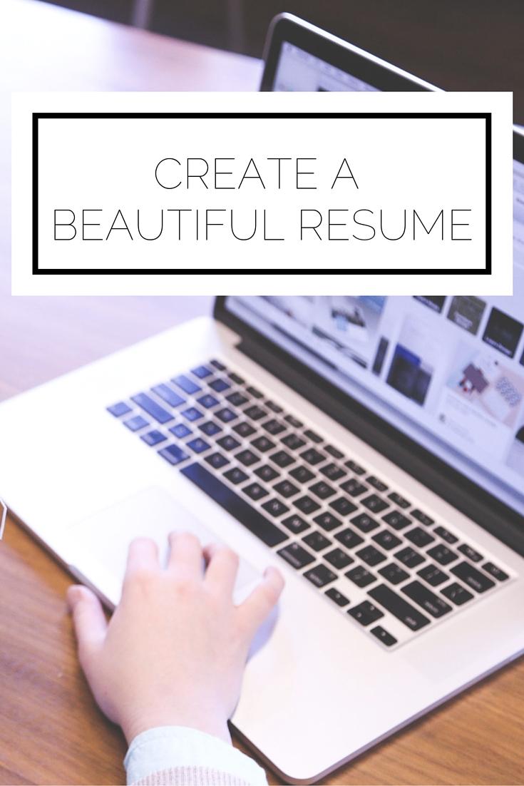 Create A Beautiful Resume Alyssa J Freitas Create A Beautiful