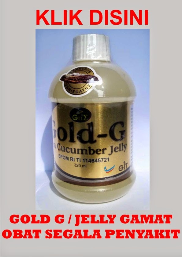 GOLD G / JELLY GAMAT
