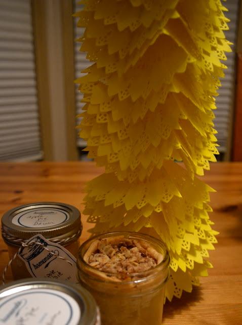 sunflower doily garland
