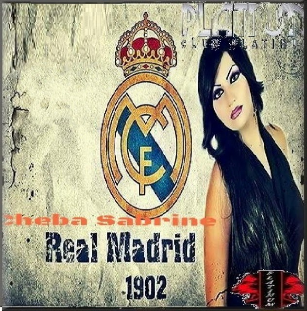 Cheba Sabrine-Real Madrid 2014