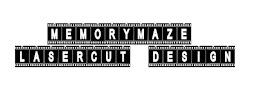 Memory MazeLasercut Design