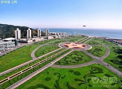 Tallest Building Xinghai Square China