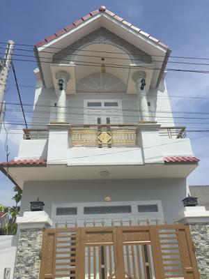 Bán nhà 1 lầu 1 trệt ngay khu phố Nhị Đồng Dĩ An Bình Dương