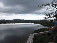 View of the Lagoon on a Cloudy Afternoon, Floreana, Galapagos