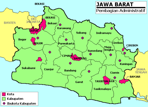 Kumpulan sejarah negeriku indonesia jawa barat berbatasan langsung dengan daerah khusus ibukota jakarta ibu kota negara indonesia sedangkan ibu kota provinsi jawa barat adalah bandung ccuart Image collections