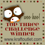 Woo Hoo! Top Three at The Kraft Journal