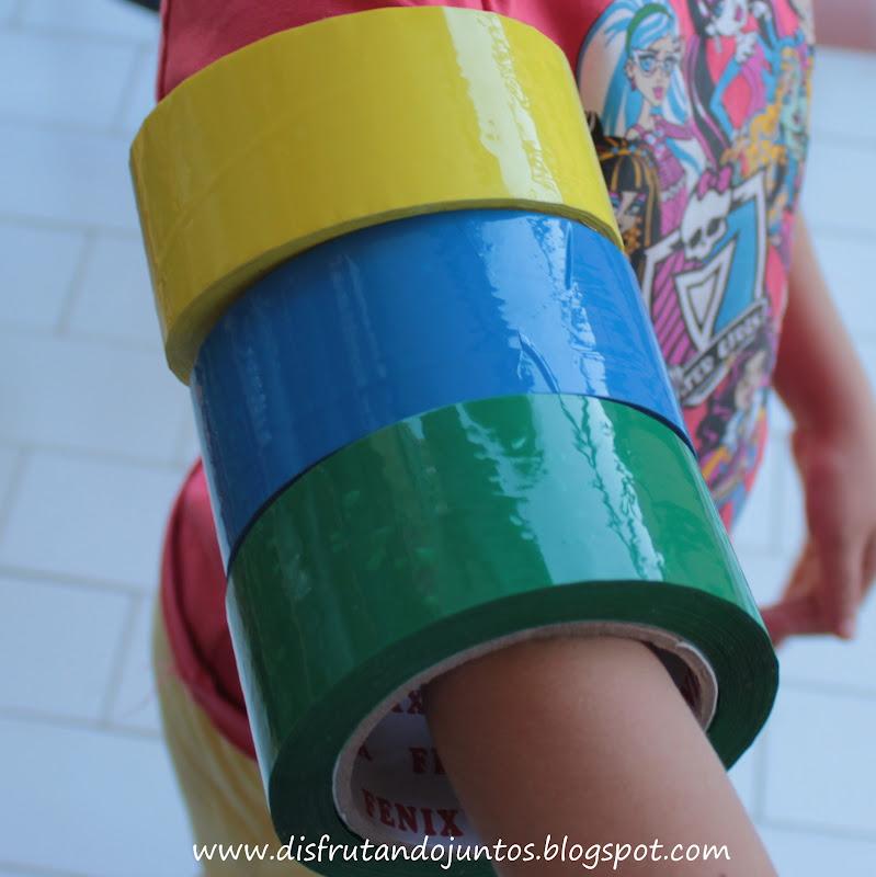 disfrutando juntos celos de colores On celo de colores