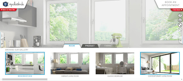 Apollo Blinds visualisation tool Design Space
