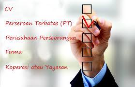 proses pendirian badan usaha