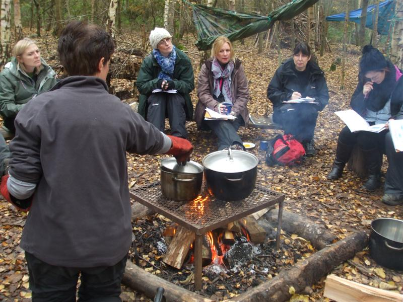 the compost bin  food handling training     a difference     teacakes and made hot drinks and then mid afternoon packed up camp to do the cieh  chartered institute of environmental health  food safety level  exam