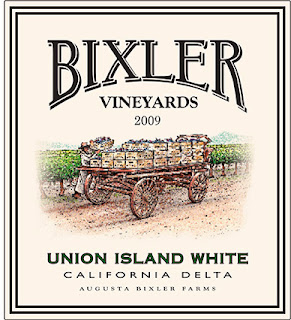 label of Bixler Vineyards Union Island White Wine