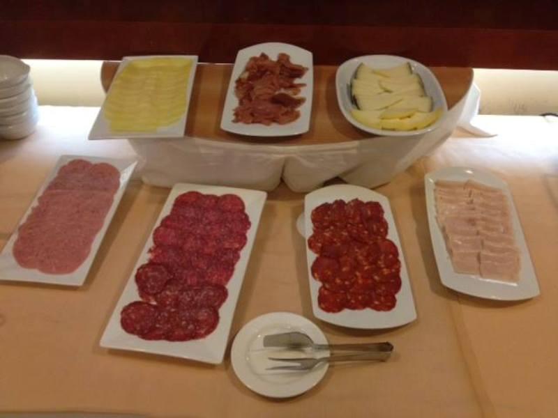 Desayuno del Hotel Spa Galatea