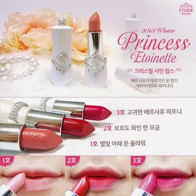 princess etoinette limited, jual etude murah, jual etude semarang, lipstick etude