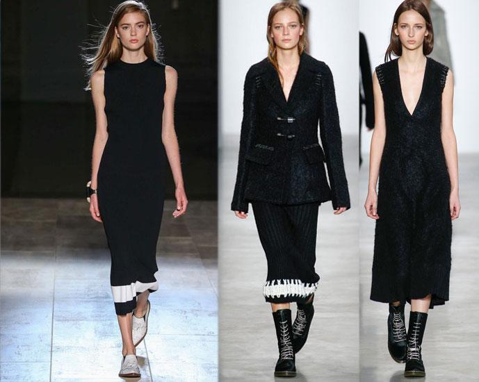 Victoria Beckham Spring/Summer 2015 vs Calvin Klein Fall/Winter 2014