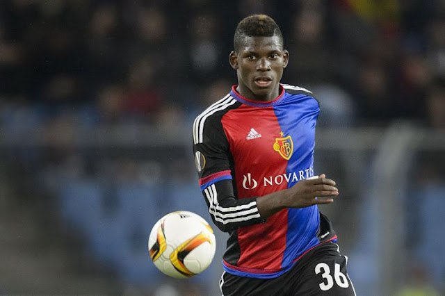 Embolo is already a full Swiss international at just 18 (Picture: Getty)