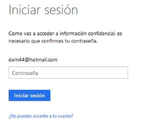 inicio sesion cuenta Microsoft