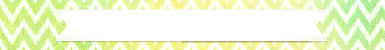 yellow and green chevron etsy banner