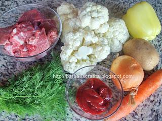Ciorba de vita cu legume ingrediente reteta