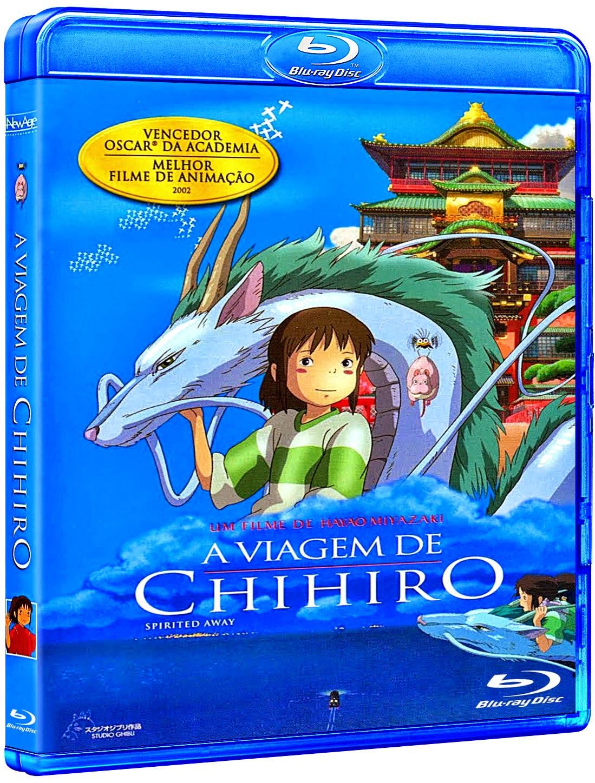 A Viagem de Chihiro (2003) BluRay 1080p Tri Áudio