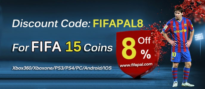 Buy fifa 15 coins with the 8% discount code - FIFAPAL8 from fifapal.com