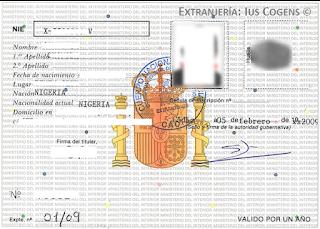 Cédula de Inscripción y Título de Viaje.