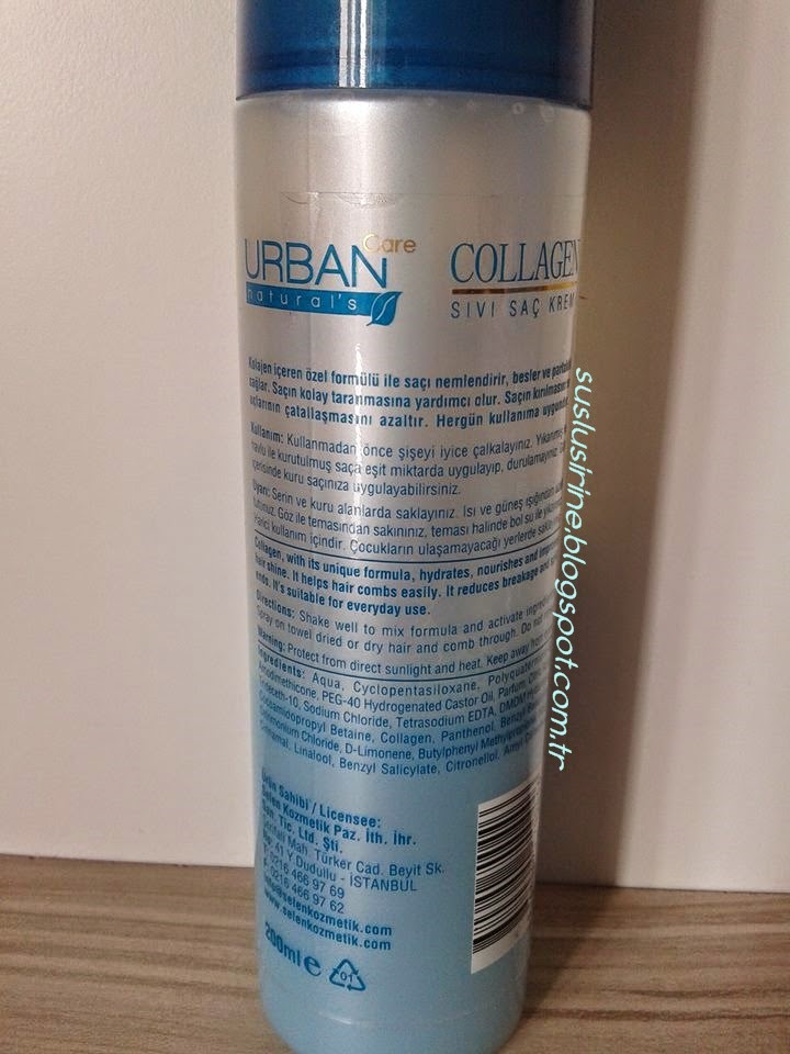 Urban Care Collagen Sıvı Saç Kremi