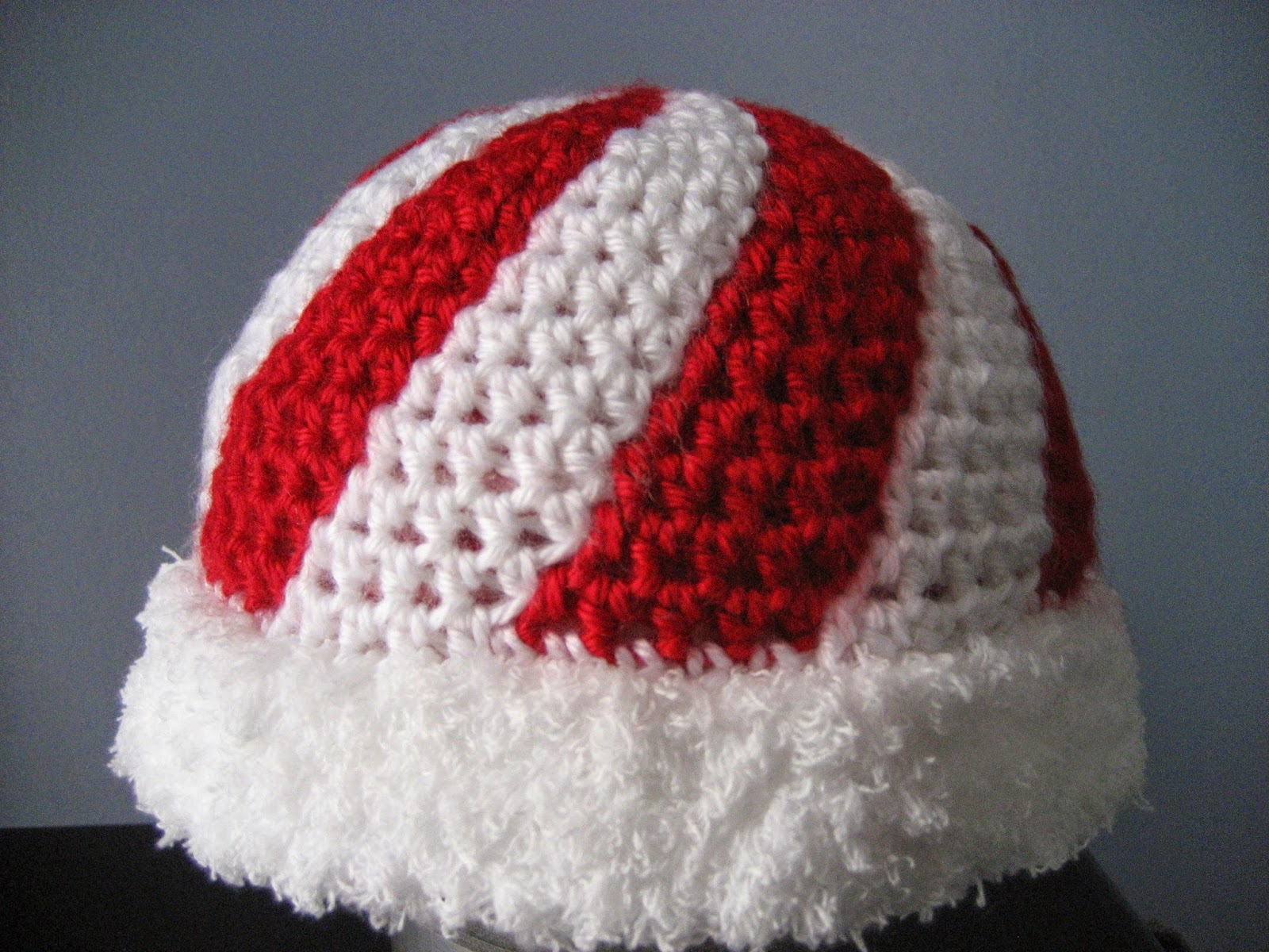 Yarning For Sanity Peppermint Candy Hat