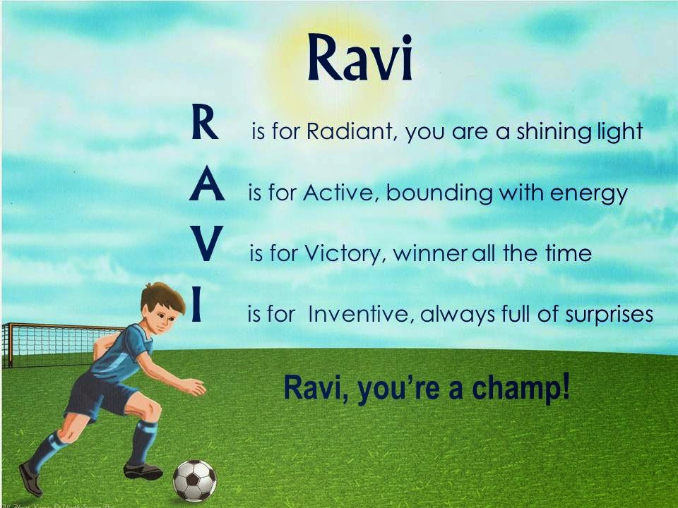 Ravi Name Acrostic Name Poems Fo...