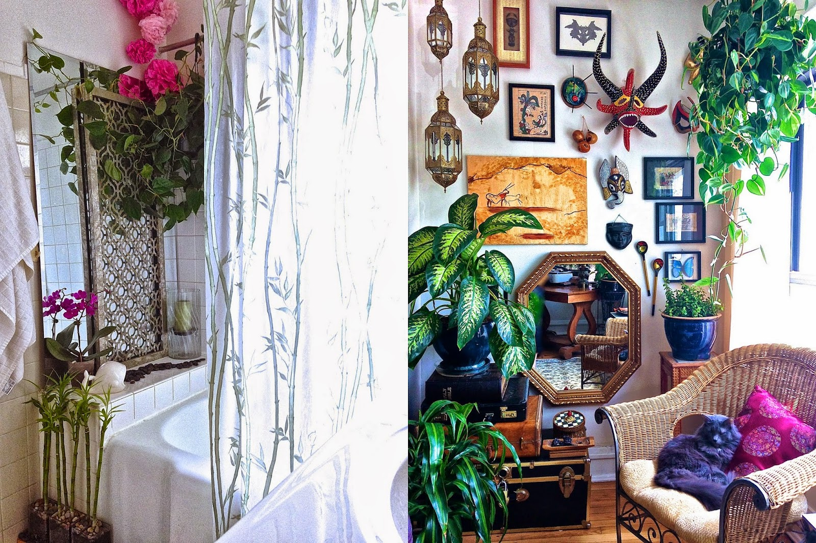 Bohemian-Jungle-Bathroom