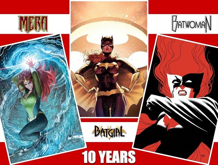 Batgirl - Mera - Batwoman