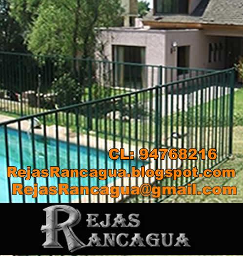 Rejas rancagua rejas para piscinas elevadas for Normas de piscina