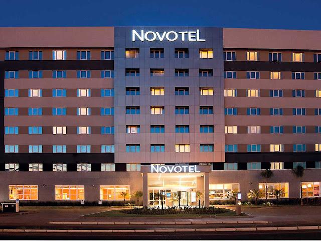 Hotel Novotel, em Porto Alegre