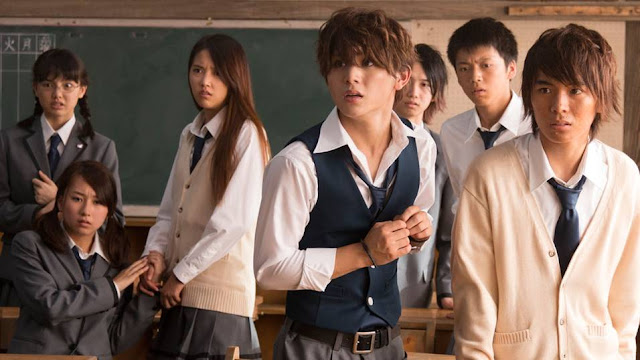 assassination classroom live action still students