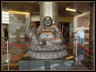 Buddha at the Aria Resort & Casino at City Center in Las Vegas
