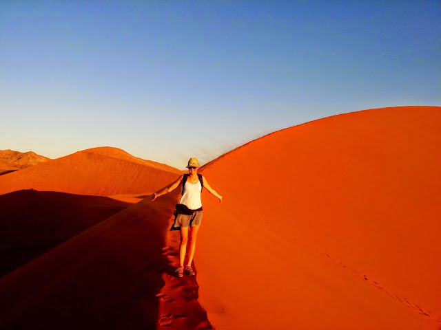 Red dunes at Dune 45, Sossusvlei